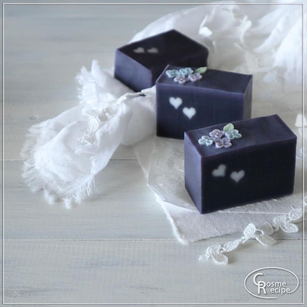 紫根と紫陽花コンフェの手作り石けん講座のご案内