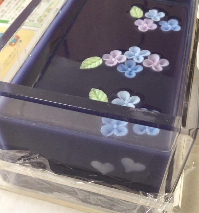 紫根と紫陽花コンフェの手作り石けん講座 レッスンレポ 2枚目
